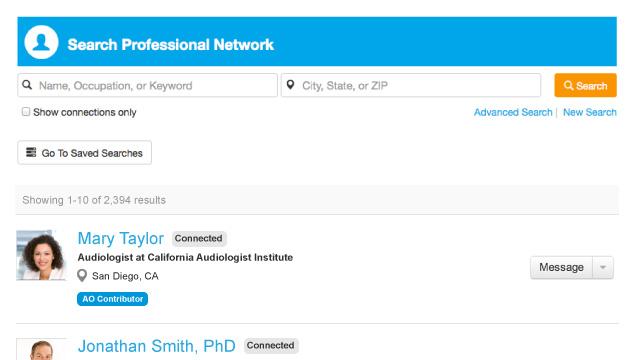 New Career Center Features on SpeechPathology.com